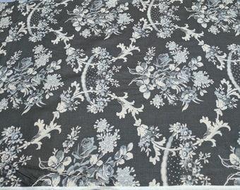 Verna Mosquera Rustic Blush-Rose Toil, Iron Cotton Fabric from Free Spirit Fabrics