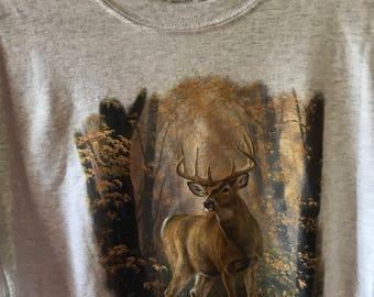 Whitetail Buck T-shirt XL
