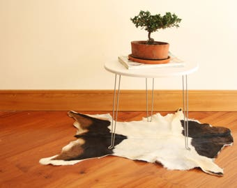 Small Cowhide Rug Etsy