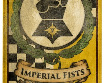 40k banner, Imperial Fists