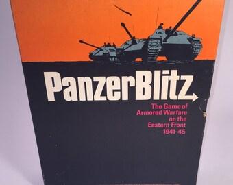 Vintage Board Game: Panzer Blitz