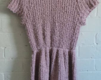 Knitted Dust Pink Dress