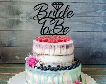 Bride to be Cake Topper, Customizable bachelorette cake topper, bachelorette decoration, personalized Cake topper, bachelorette deco