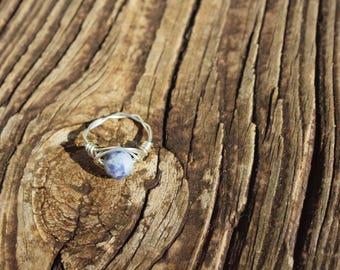 Sodalite Stone ring