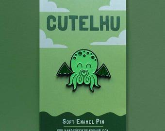 Cutelhu Enamel Pin Badge