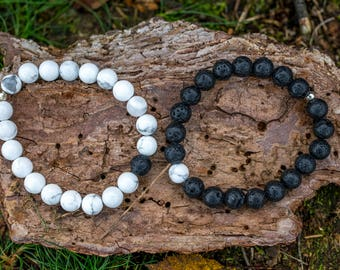 Friendship / distance / Love beaded bracelets