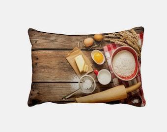 Kitchen Cushion - I Love Baking