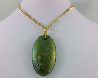Necklace: Dreams of Green Opal