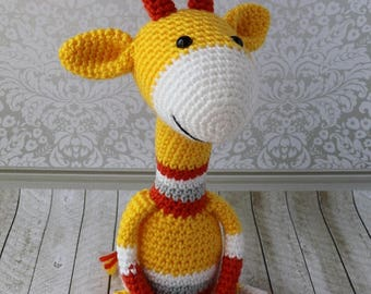 Baby Gift, Crochet Giraffe, Amigurumi Animal, Amigurumi Giraffe, Crochet Giraffe, Crochet Toy, Stuffed Toy