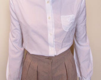 St Michaels Pink Straight Leg Trousers - Size 12/ 10