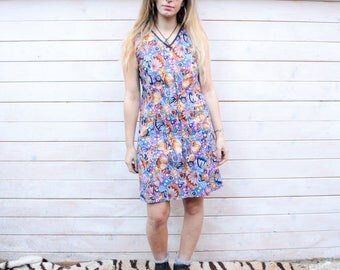 Vintage 60's Summer Cotton Dress