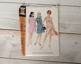 Vintage McCall's Dress Pattern