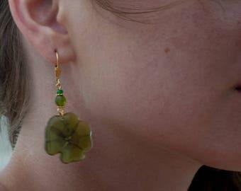 Earrings - Four-Leaf Clover - Golded Plated 18k