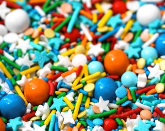 El Matador Sprinkle Blend, Fiesta Sprinkles, Turquoise Sprinkles, Canadian Sprinkles, Fancy Sprinkles