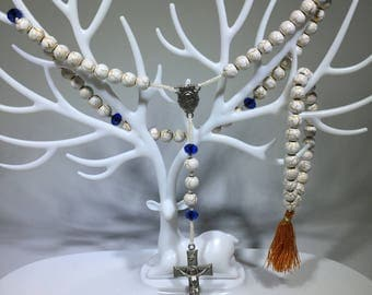 Jewelry Set Glass Rosary Set