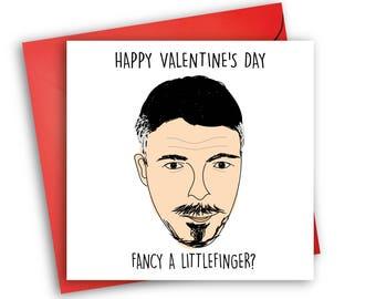 Littlefinger Card/ Valentineu0027s Day / Game Of Thrones