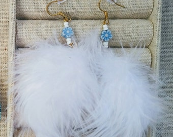 White feather with small flower 50% was 13.99