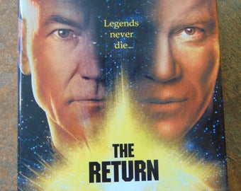 The Return , 1996 , William Shatner , Star Trek , Novel by William Shatner