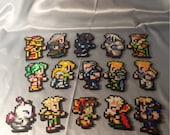 Final Fantasy 6 Sprites - Perler Bead Art