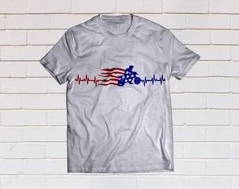 American flag svg, Usa flag svg, Patriotic svg, Motocross svg, SVG Files, Cricut, Cameo, Cut file, Files, Clipart, Svg, DXF, Png, Pdf, Eps