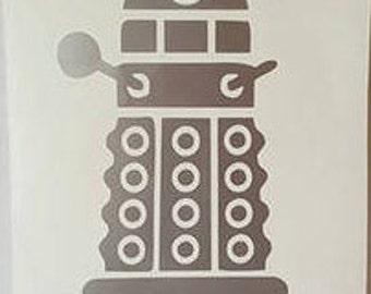 Dalek Car Decal
