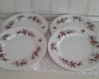Royal Albert Lavender Rose Dinner Plates Set of 4