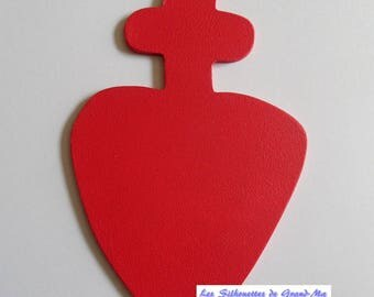 Chouan wall hanging wooden heart