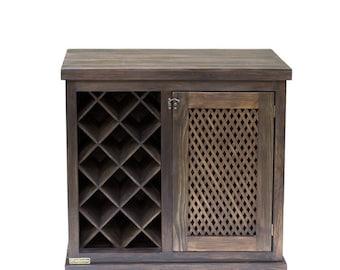 wood wine cabinets wooden wine rack cube rustic wine rack wine rack - Wooden Wine Rack