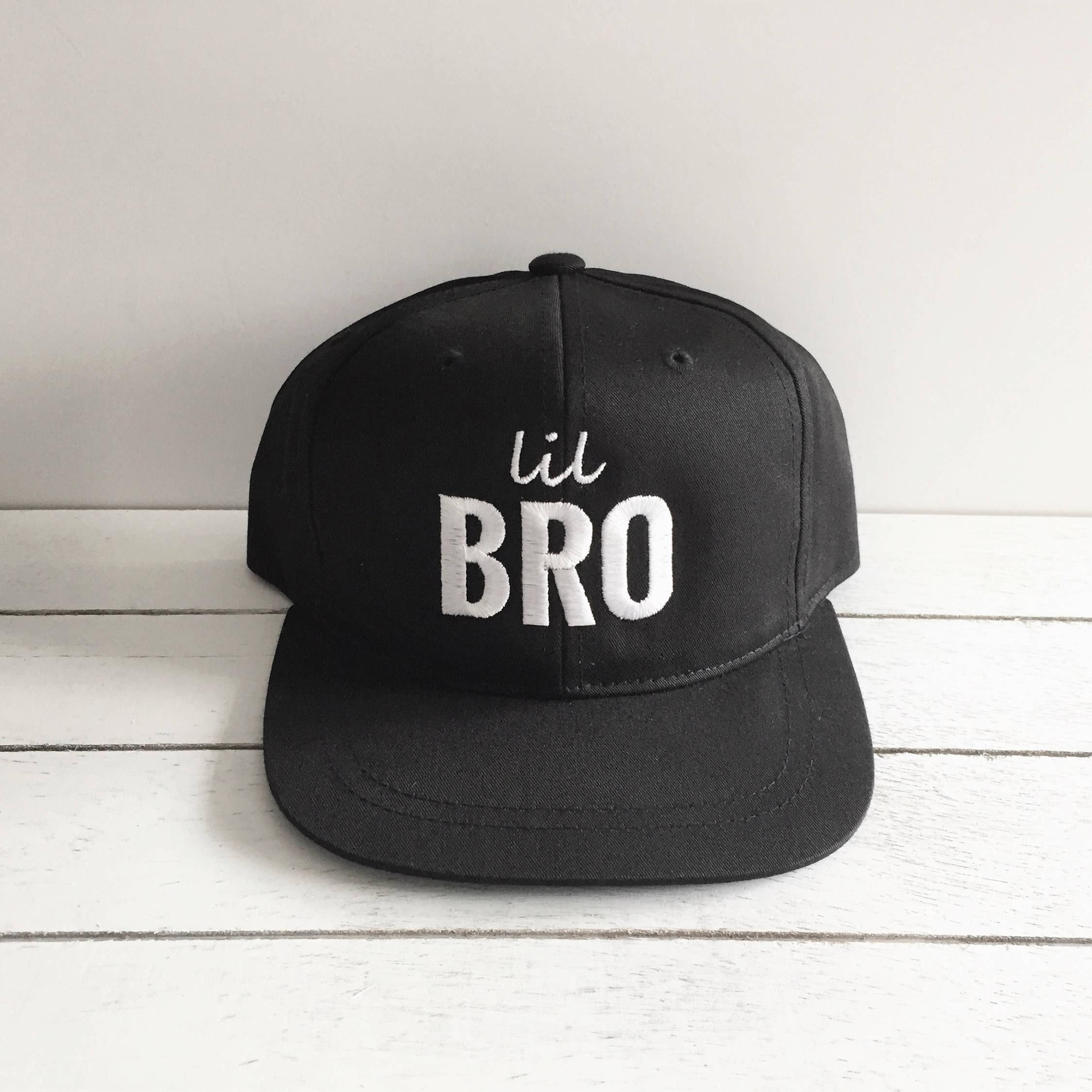 BROS | Matching Brother Hats. Lil Bro, Middle Bro, Big Bro. Toddler ...