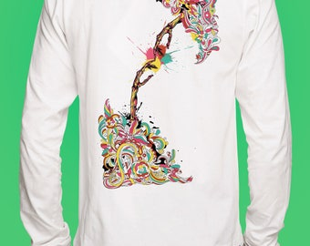 New Abstract Art Sweat Shirt