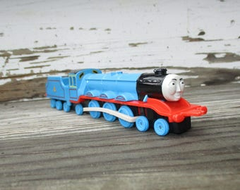 Thomas The Tank Engine Limited Die Cast Trains, Gordon No 4 Locomotive, ERTL 1990Collectible Thomas and Friends, Shining Time Station