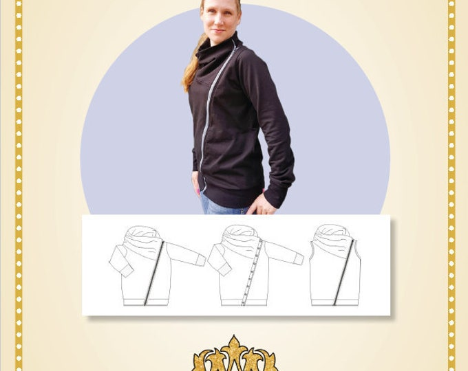 Biker jacket women 34-54 (Physical)