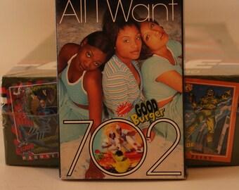 GOOD BURGER Soundtrack 1997 Song Cassette All I Want Kel Mitchell Kenan Thompson Sinbad Hamburger Cheeseburger Movie Music