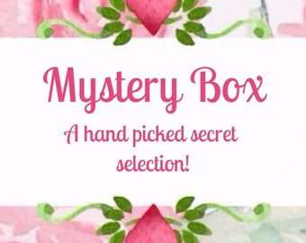 Mystery box | Secret Selection Hair Bows | 3 Or 4 Bows Per Pack