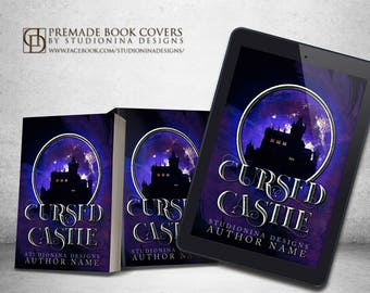 "Premade Digital eBook Book Cover Design ""Cursed Castle"""