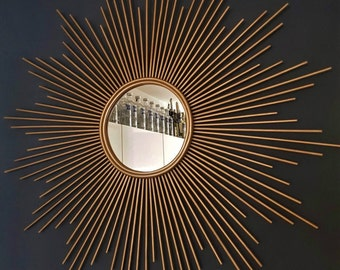 Beautiful Sunburst Mirror, Home Decor, Wall Art