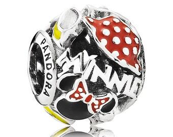 New AUTHENTIC PANDORA DISNEY Minnie's Mania Charm Park Exclusive
