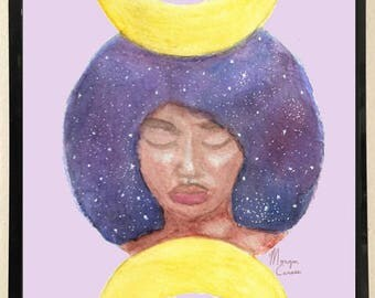 Moon Goddess Print