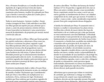 A Família, Proclamação ao Mundo (1-Portuguese)