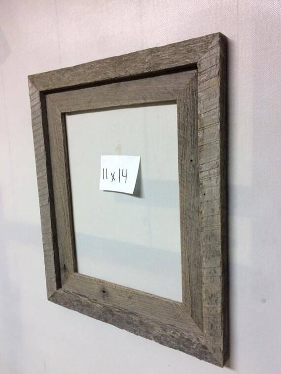 11x14 Barn Wood Frame
