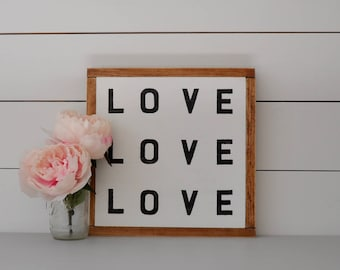 Love | Wood Wall Art | Home Decor | Wall Decor | Rustic Home Decor | Wall Hanging