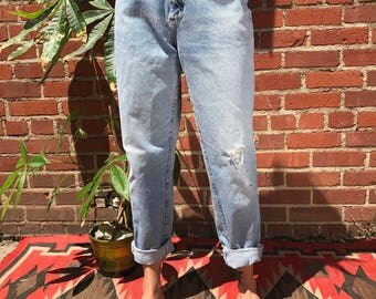 Vintage 90's light wash Lee jeans