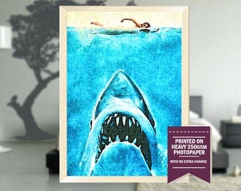 Jaws fan art | Etsy