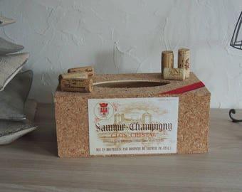 "Box with handkerchiefs ""Wine"""
