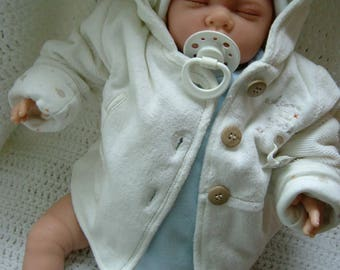 reborn doll newborn baby boy painted hair child friendly from 4yrs plus