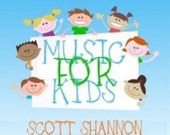 Music For Kids by Scott Shannon Digital Download