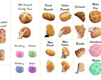 JUMBO Bakery Bread Squishies