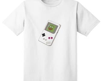 Pepe the sad frog  Gameboy T shirt
