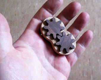 Wood Hand Spinner - Small Wood Hand Spinner - Hand Spinner - Wood Toys - Gift for Him - Gift for Father - Gift For Boy - Gift For Girl
