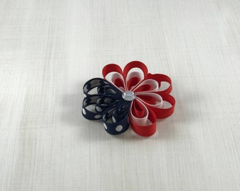 4th of July Loopy Flower